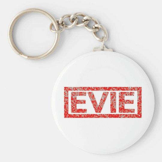 Evie Briefmarke Standard Runder Schlüsselanhänger
