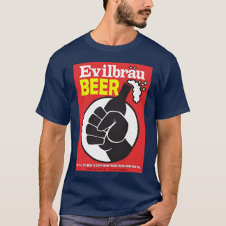 Evilbrau Bier-Faust-Logo T-Shirt