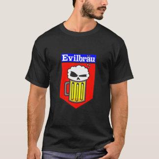 EvilBrau Tasse auf Schwarzem T-Shirt