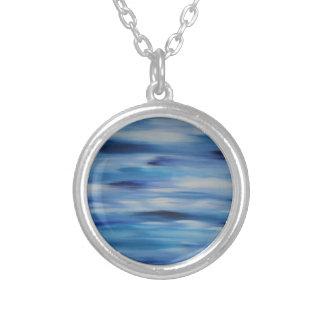 Evitavic Malereisammlung blauer Himmel Versilberte Kette