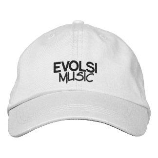 EVOLSI Musik-Baseball-Mütze Besticktes Cap
