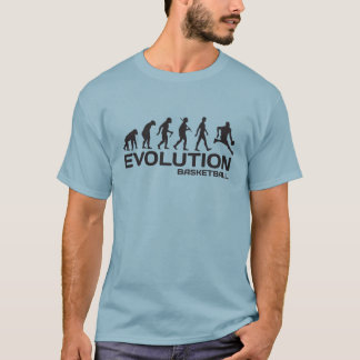 EVOLUTION BASKETBALL-Sport NBA lustigen T - Shirt