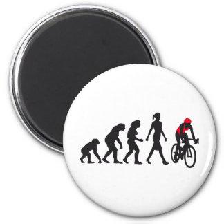 évolution bicacle female plus racer magnet rond 8 cm