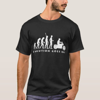 evolution biker T-Shirt