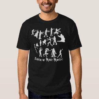 Évolution de T-shirt d'obscurité de monstres de