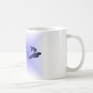 Evolution des Highside (blau) Kaffeetasse