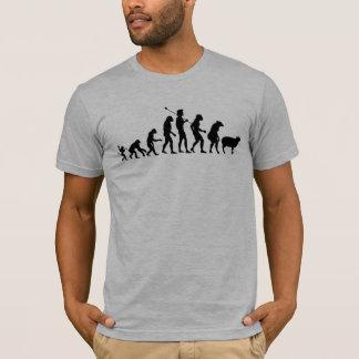 Evolution des Massen-Shirts T-Shirt