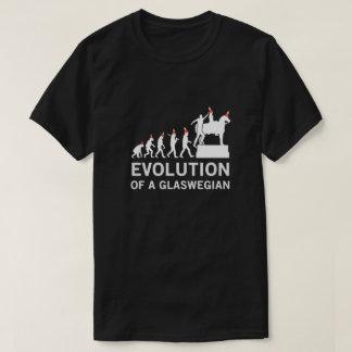 Evolution eines Glaswegian T-Shirts (Glasgow)