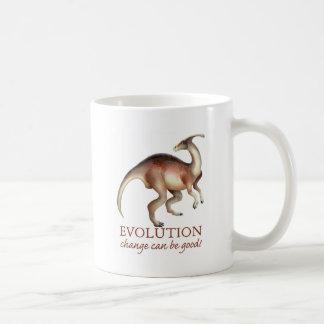 Evolution parasaurolophus kaffeetasse