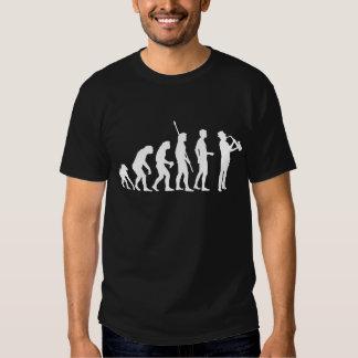 Evolution saxophon t-shirt