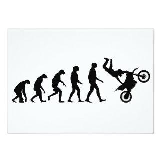 Evolution von Motocross Karte