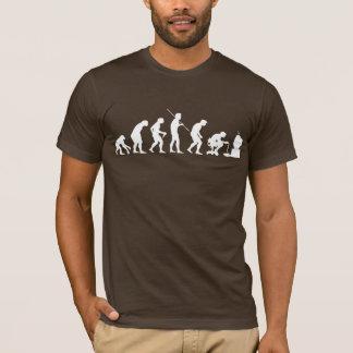 Evolution von Videospiel-SpielGamer T-Shirt