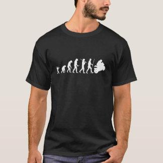 Evolution zum Motorrad T-Shirt