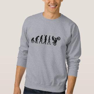 Evolutionmotocroßlaufen Sweatshirt