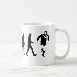 Evolutions-Rugby Kaffeetasse