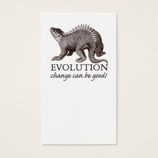 Evolutions-Visitenkarte Visitenkarte