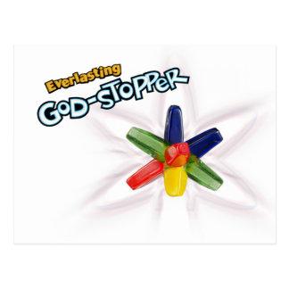 Ewig Gott-Stopper Postkarte