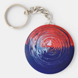 Ewiger Kreis 1 Standard Runder Schlüsselanhänger