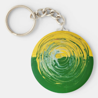 Ewiger Kreis 3 Standard Runder Schlüsselanhänger