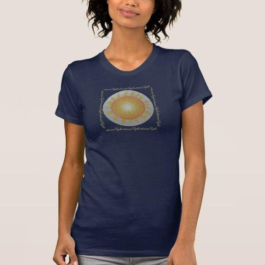 Ewiges Licht der Mandala T-Shirt
