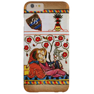 EWIGES LIEBE-MONOGRAMM-Pergament Barely There iPhone 6 Plus Hülle