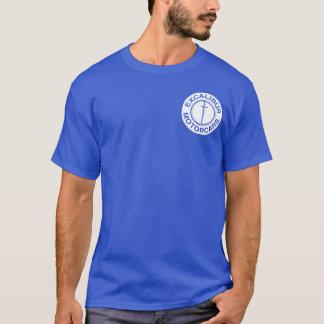 Excalibur Auto-Weißlogo T-Shirt