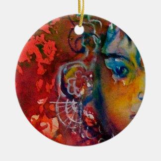 EXCALIBUR, KÖNIGIN MAGISCHE des KLINGE Keramik Ornament