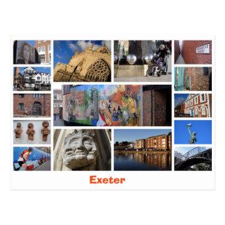 Exeter-Postkarte Postkarte