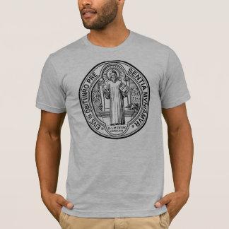 Exorzismus-Medaillen-T - Shirt St. Benedict