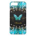 Exotische aquamarine blaue iPhone 8 plus/7 plus hülle