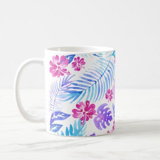 Exotische Blumen Tasse