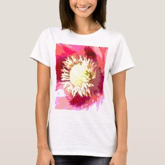 Exotische Sonnenblume-Blume T-Shirt