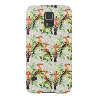 Exotische Vögel auf Spitze Samsung Galaxy S5 Cover