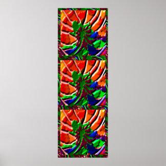 EXOTISCHE wilde Kaktus-Blüte Poster