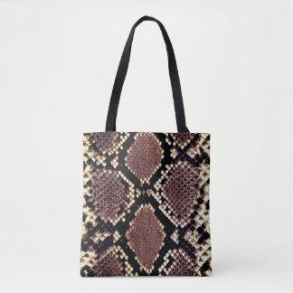 Exotischer Imitat-Schlangen-Haut-Tierdruck Tasche