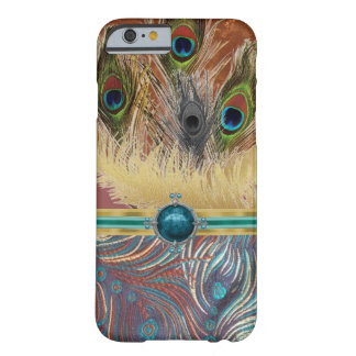 Exotischer Pfau-Muster IPhone 6 Fall Barely There iPhone 6 Hülle