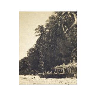 Exotischer Strand Gespannte Galerie Drucke