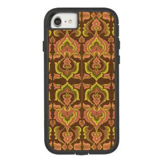 Exotischer Vintager Herbst färbt grünes Gelb Case-Mate Tough Extreme iPhone 7 Hülle 1