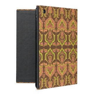 Exotischer Vintager Herbst färbt grünes Gelb Etui Fürs iPad