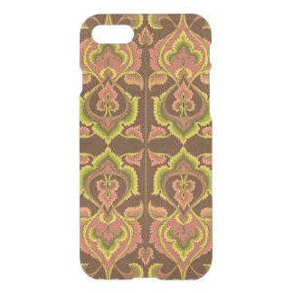 Exotischer Vintager Herbst färbt grünes Gelb iPhone 7 Hülle