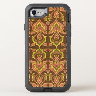 Exotischer Vintager Herbst färbt grünes Gelb OtterBox Defender iPhone 7 Hülle