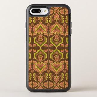 Exotischer Vintager Herbst färbt grünes Gelb OtterBox Symmetry iPhone 7 Plus Hülle