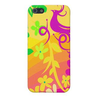 Exotischer Vogel in den tropischen Farben iPhone 5 Hüllen