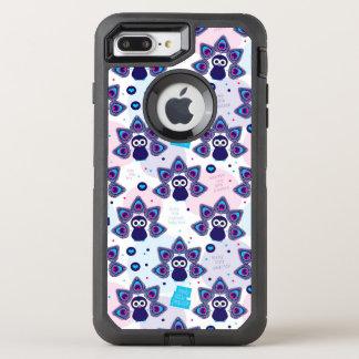 exotisches Indien-Pfaumuster OtterBox Defender iPhone 8 Plus/7 Plus Hülle