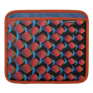 Exotisches tropisches Fisch-Muster iPad Sleeve