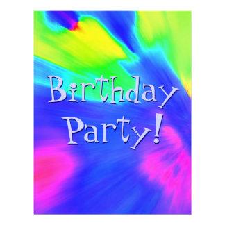 Explosions-Geburtstags-Party III Flyers