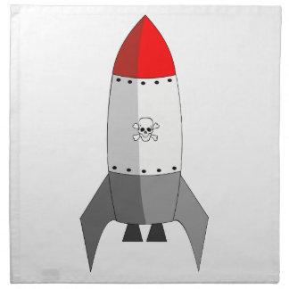 Explosives Rocket Serviette