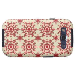 Extravagante Case-Mate-Abdeckung Schneeflocke-Sams Etui Fürs Samsung Galaxy S3
