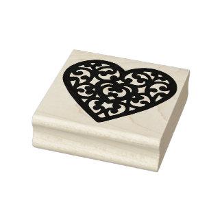 Extravagante Herz-Form-Gummikunst-Briefmarke Gummistempel