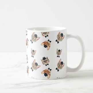 Extravagante Katzen-Klassiker-Tasse Kaffeetasse